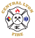 Central Lyon Fire Logo